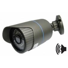 Видеокамера IP уличная Hubble HB-51381 1.3.Mp (1280*960, 1.3.Mpix, H.264, 3,6мм) audio