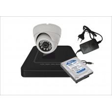 Готовый комплект AHD c 1-ой офисной видеокамерой