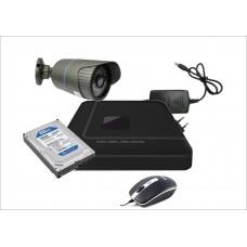 Готовый комплект AHD c 1-ой уличной видеокамерой