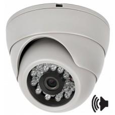 Видеокамера IP уличная Hubble SVIP-2321 2Mp; (1920x1080, 2Mpix, H.264, 3,6мм) audio вход RCA