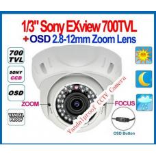 Видеокамера уличная L780K18  CCD700w30sIR SONY Effio-e 4X 2.8-12