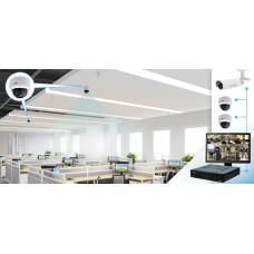 Монтаж системы видеонаблюдения в офисе